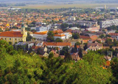 View of Szekszard
